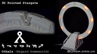 3D Printed Working Stargate V2 - Asgard